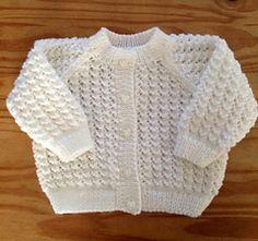 Knit Lacy Cardigan - Free pattern