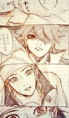Indra and ashura , ashura has the sharingan, will they are brother after all Indra Naruto, Indra Y Ashura, Naruto Y Boruto, Naruko Uzumaki, Susanoo, Sarada Uchiha, Naruto And Sasuke, Gaara, Anime Naruto