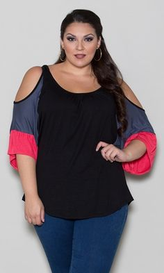 9a1d56a37e7 Jenny Cold Shoulder Top  39.90 by SWAK Designs  swakdesigns  PlusSize  Curvy  Camisole