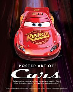 Disney Pixar CARS 3: Poster Art of CARS & Graphic Novelization   Take Five a Day