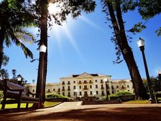 Vista Palace Hotel da praça Pedro Sanches - Poços de Caldas MG