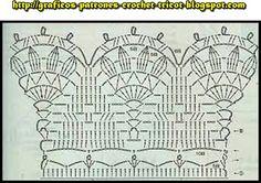 PATRONES=GANCHILLO = CROCHET  = GRAFICOS =TRICOT  = DOS AGUJAS: GRAFICOS=CROCHET=GANCHILLO=PUNTILLAS AL CROCHET