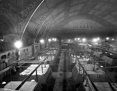 Old Market Hall. Destroyed in Blitz.