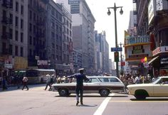 Broadway and 7th st Los Angeles Calif 1970s