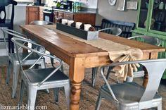 DIY Ruffled Burlap Table Runner