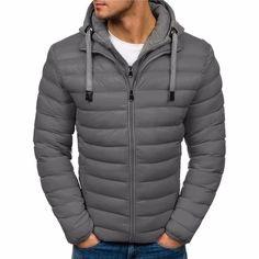 jaqueta preta masculina casaco preto liso de inverno