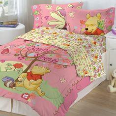 Winnie the Pooh Bedroom | Winnie the Pooh- Cheerful Friendly Bedding