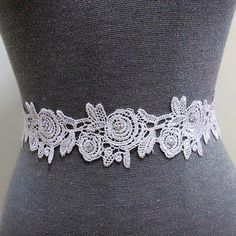 Rhinestone lace bridal sash belt, Bling belt, Crystal belt, Beaded belt, Wedding dress belt, Wedding belt, Bridal dress belt, Wedding sash by MagicSashAccessories on Etsy
