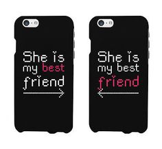 BFF Matching Phone Cases for Best Friends She Is My Best Friend Matching iphone 4 5 5C 6 6+ / Galaxy S3 S4 S5 / HTC One M8 / LG G3 Cases IPHONE 6 and IPHONE 6 PLUS CASES AVAILABLE!! - Order includes T