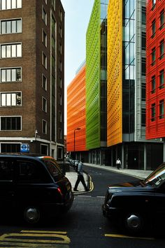 Central St Giles Mixed-Use Development/Renzo Piano
