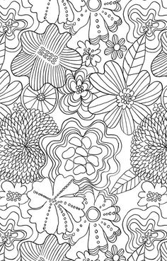 The Mindfulness Colouring Book: Anti-stress Art Therapy for Busy People Colouring Pages, Adult Coloring Pages, Coloring Books, Mindfulness Colouring, Tarot Gratis, Flower Collage, Living At Home, Anti Stress, Colorful Flowers