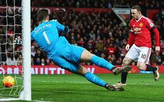 Manchester United 3 Stoke City 0: Wayne Rooney beats Jack Butland and continues to edge closer to Bobby Charlton's record as United's top scorer