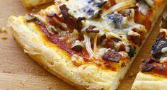 Pizza sans glutenVoir la recette >>