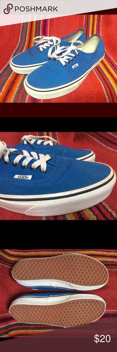 139a6eef8aa58e Shop Women s Vans Blue White size 10 Sneakers at a discounted price at  Poshmark. Description  Blue Vans skate shoes Available via our depop and  etsy only!