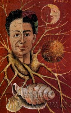 frida and diego. Painted by Frida Kahlo for Diego Rivera. The original painting a small offering framed in seashells. such sweetness. Frida E Diego, Frida Kahlo Diego Rivera, Natalie Clifford Barney, Frida Paintings, Art Actuel, Psy Art, Mexican Artists, Naive Art, Oeuvre D'art