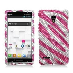 [SUGARPHONE] PINK ZEBRA Rhinestone/Diamond/Crystals/Bling Hard Plastic Protector Cover Case For LG Optimus L9 P769 (T-Mobile) by FOR LG OPTIMUS, http://www.amazon.com/dp/B00ARAO478/ref=cm_sw_r_pi_dp_x4LJrb153NQAY