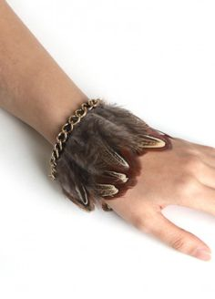 Fine and Feathered Bracelet  $10.00