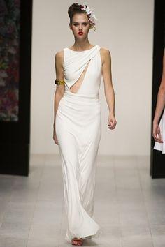 White Issa Dress
