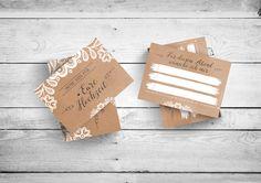 **Musikwunschkarten - Sweet Vintage**   Party + DJ + Musik + Gäste = gelungene Hochzeitfeier!   Jeder Gast hat Musikwünsche und jeder sollte diese auch mitteilen können. Mit diesen Karten, die...
