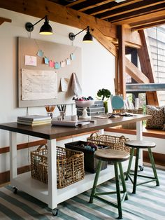 Eclectic Home Office Design, Pictures, Remodel, Decor and Ideas - page 3