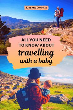 Tips for travelling with a baby or toddler - Kids and Compass