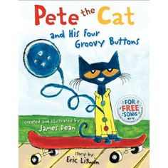 Pete the Cat and His Four Groovy Buttons - one of the best Children's Picture books of the year!