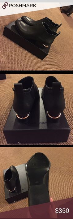 7f7d8cce9 Alexander wang Kori Booties Size 39.5 - fit like a true 8.5/9 brand new