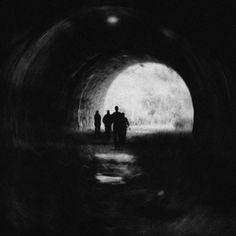 Walk Away From The Light, photography by Mirela Pindjak