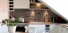 attic kitchen - Google Search
