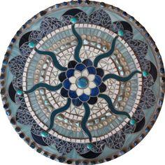 Mosaic Mandalas by Nicala Hicks, via Behance