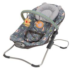 Disney Baby Snug Fit Folding Bouncer Pooh Woodland Whimsy - DOREL JUVENILE GROUP