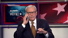 Tom Brokaw doesn't miss a beat after phone goes off live on MSNBC