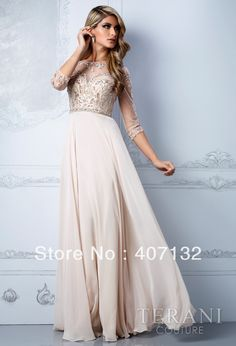 Gorgeous Chiffon Crystals Sleeves New Arrival 2013 Mother of the Bridal Dress $139.00