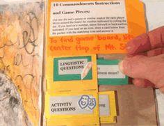 Ten Commandments lapbook by Homeschool Helper Online.