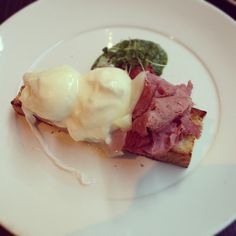 This was an #amazing #breakfast of #poached #eggs