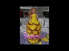 Boneca com garrafa pet e EVA. Parte 2 - YouTube