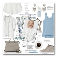 """""""RM"""" by stranjakivana ❤ liked on Polyvore featuring Rebecca Minkoff, L'Oréal Paris, Essie, Valentino, women's clothing, women, female, woman, misses and juniors"""