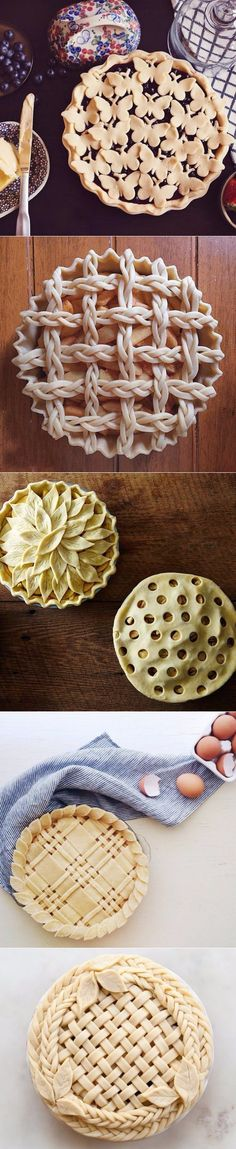How to decorate a pie/tart