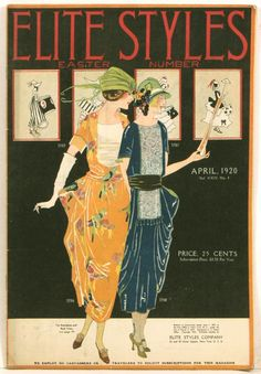 Lovely! 20's Spring Fashion
