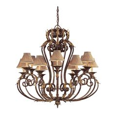 Metropolitan by Minka Zaragoza 12 - Light Shaded Classic / Traditional Chandelier Chandelier Lighting Fixtures, Kitchen Chandelier, Globe Chandelier, Chandelier Shades, Light Fixtures, Chandeliers, Kitchen Lighting, Small Bedroom Furniture, Kitchen Furniture