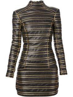 BALMAIN Lambskin Dress