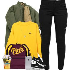 A fashion look from December 2016 featuring HUF t-shirts, NIKE shoes and Links of London necklaces. Browse and shop related looks.