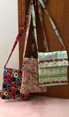 Sling purses I made for Birthday presents