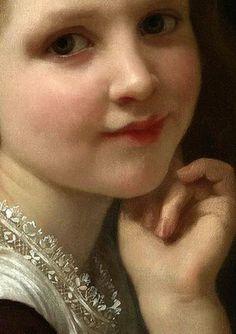 Distraction, William-Adolphe Bouguereau, detail