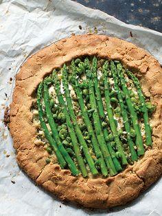 asparagus crostata