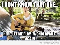 Scumbag amateur guitar player..maybe...you're gonna be the one to save me...