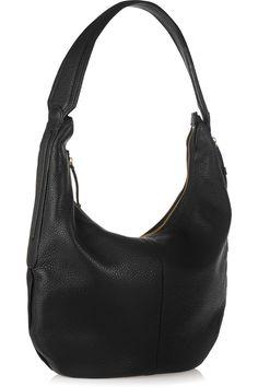 Halston Heritage Hobo textured-leather shoulder bag