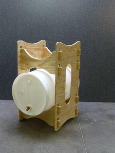 Home - Water Barrel Storage Rack