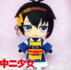 The Sword Dance Touken Ranbu Mikazuki Munechika Cosplay DIY toy Doll material $17.10