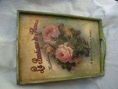 Garden of Decoupage: May 2012
